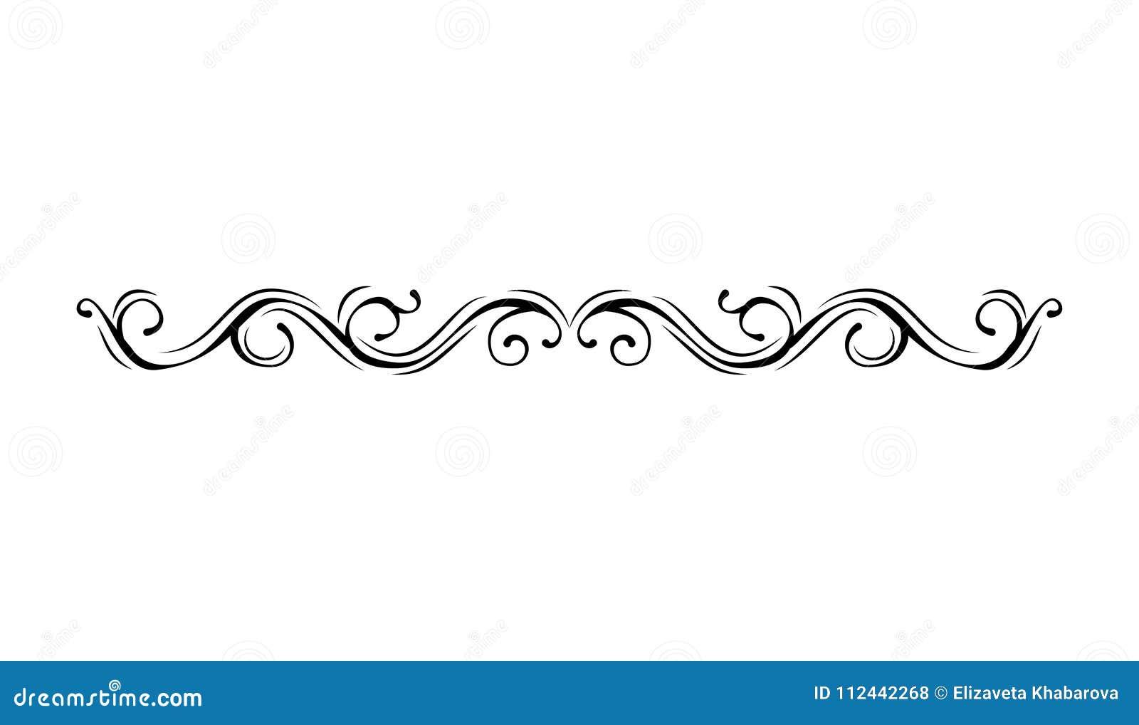 border vintage filigree frame scroll ornament engraving