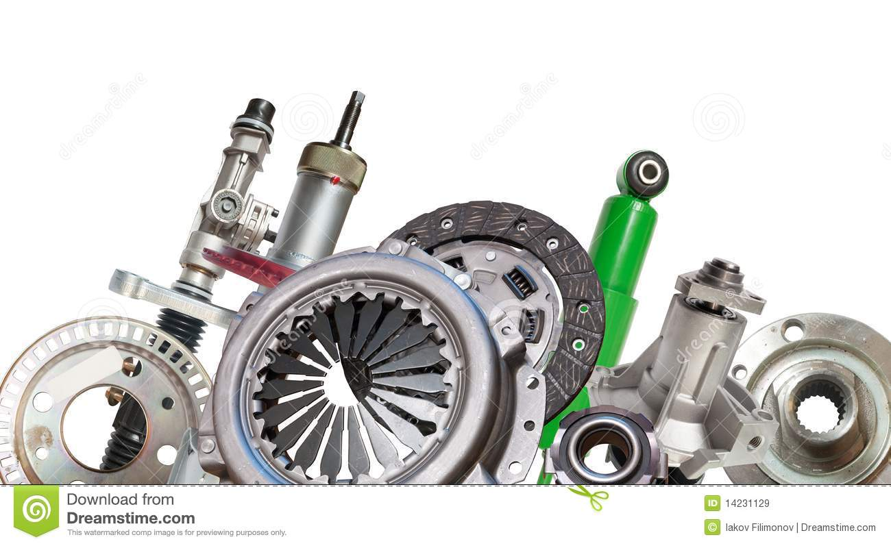 Borders Of Automotive Parts Stock Image - Image of ...