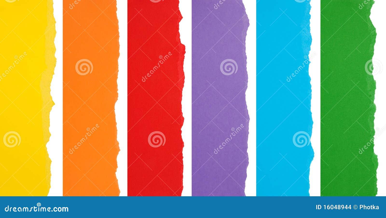 Borders rivet färgrikt