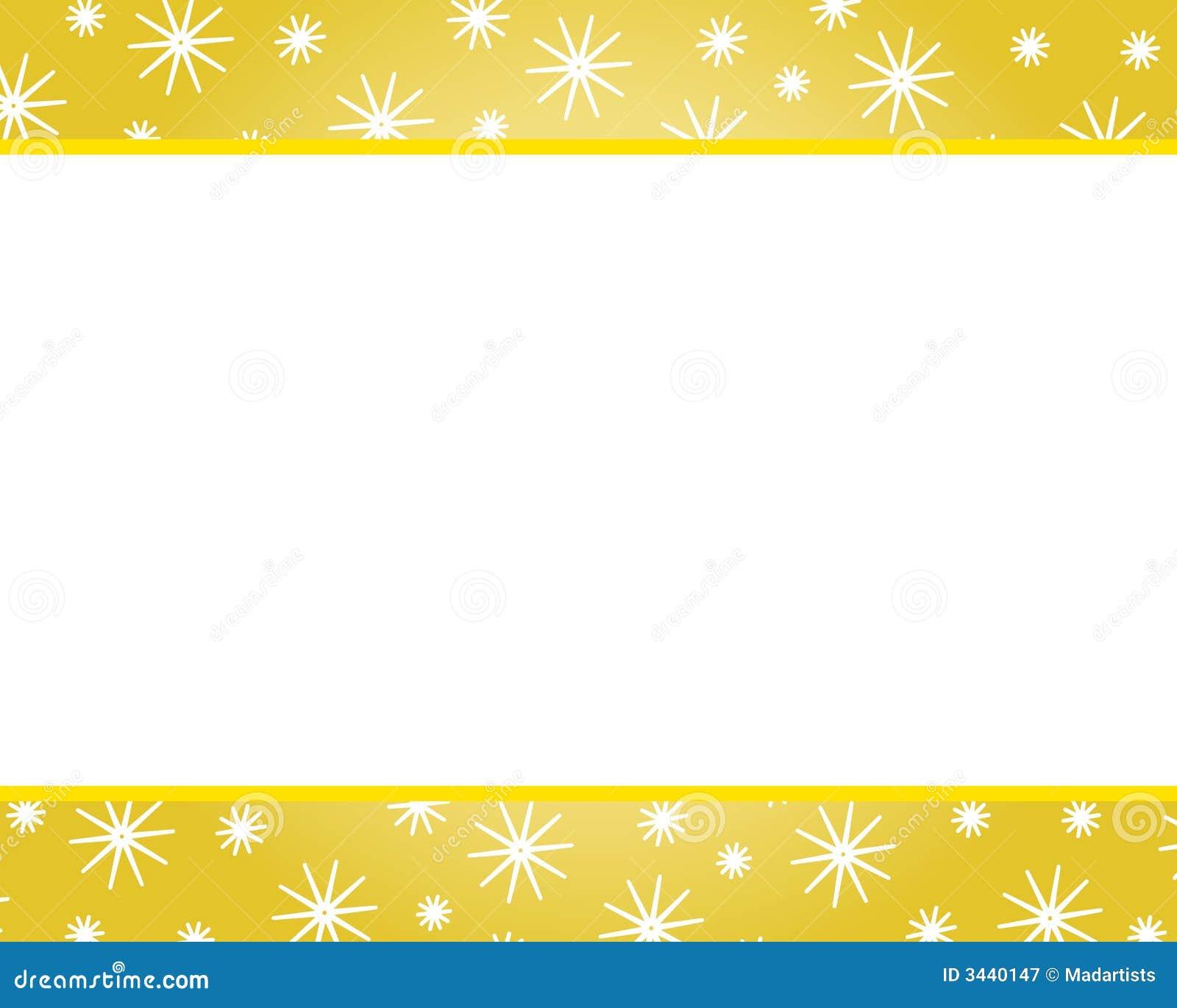 bordi di natale dell oro illustrazione di stock Snowflake Border Clip Art Snowflake Background Clip Art