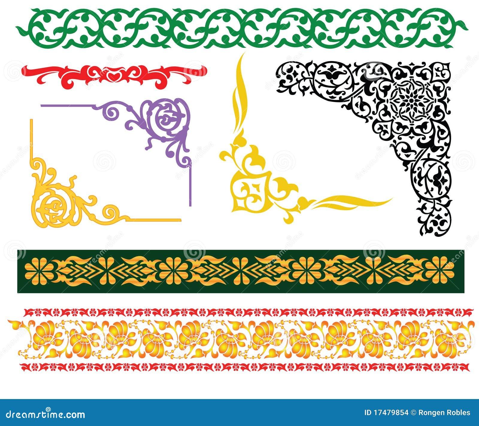 Bordi islamici del Malay