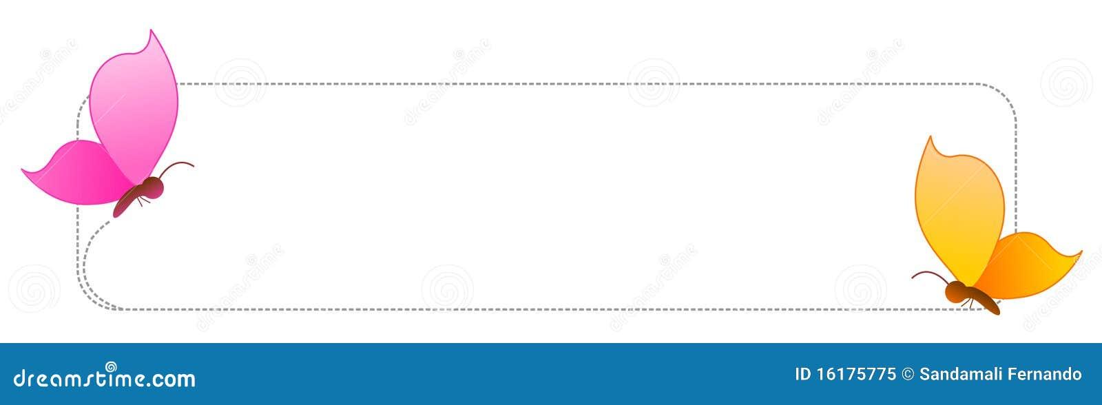 Bordo/blocco per grafici della farfalla