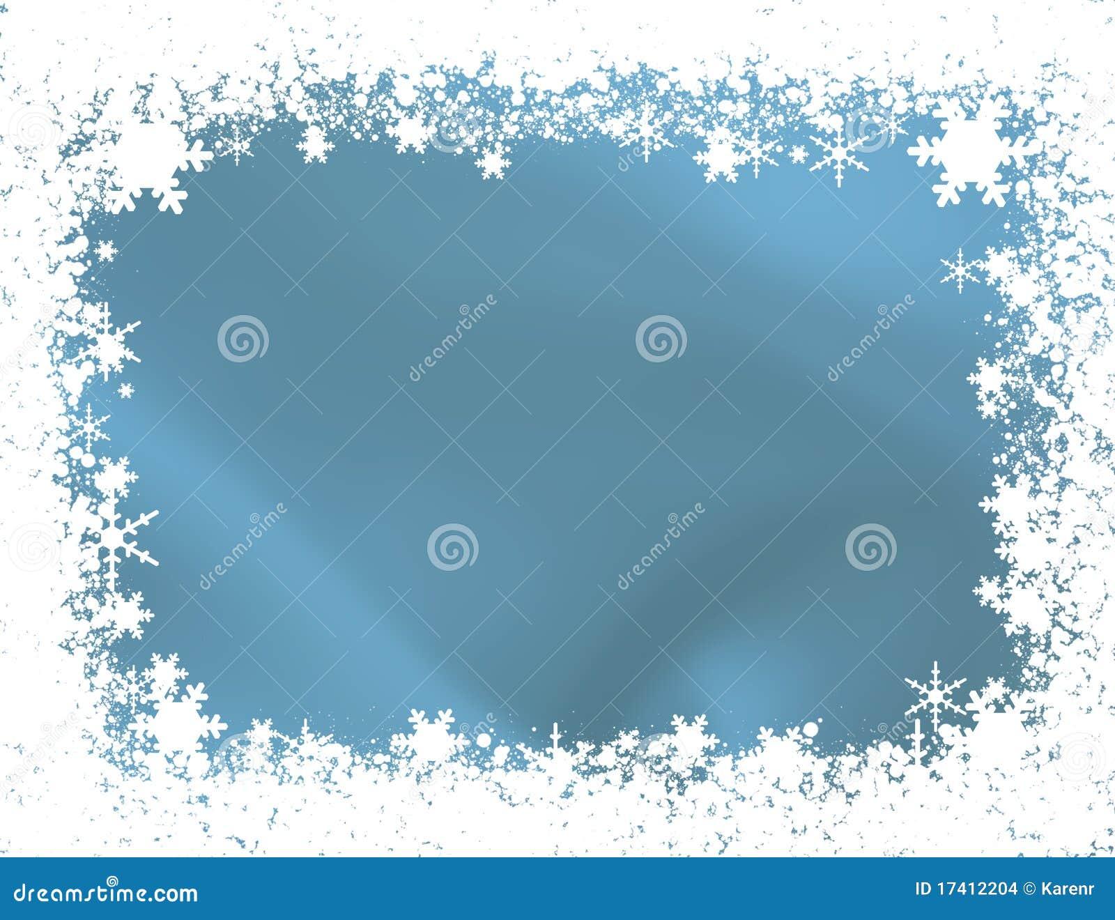 Bordo del fiocco di neve