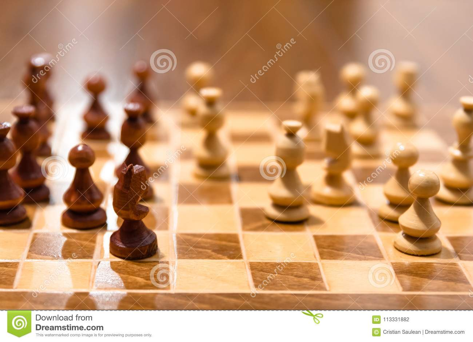 Bordo del gioco di scacchi