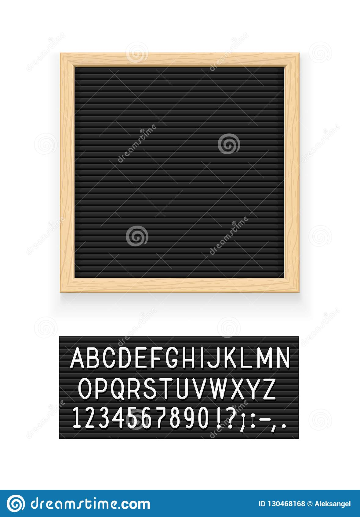 Bordo della lettera nera