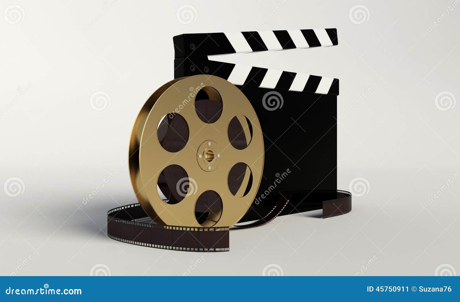 Bordo di applauso e del film, video icona