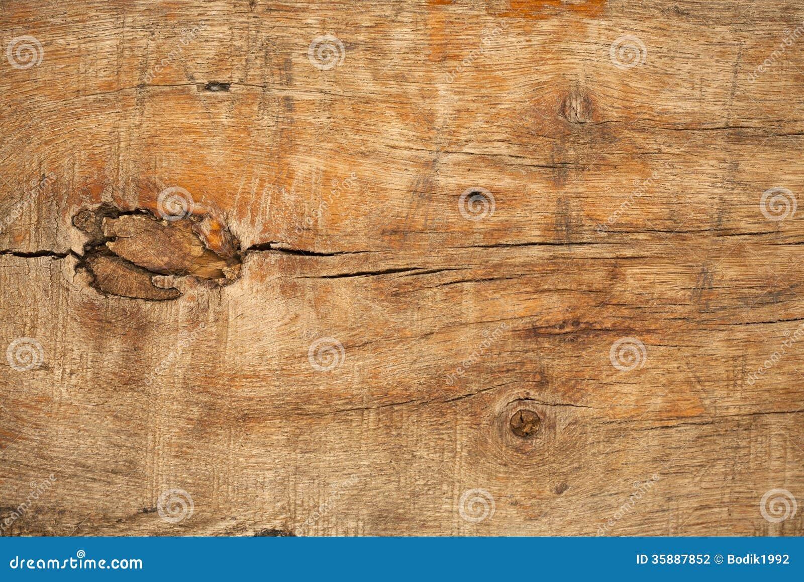 Bordo di legno anziano