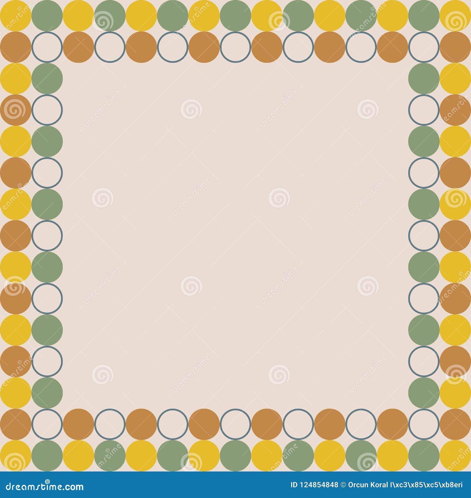 Bordo di presentazione di progettazione color crema del fondo della carta attuale