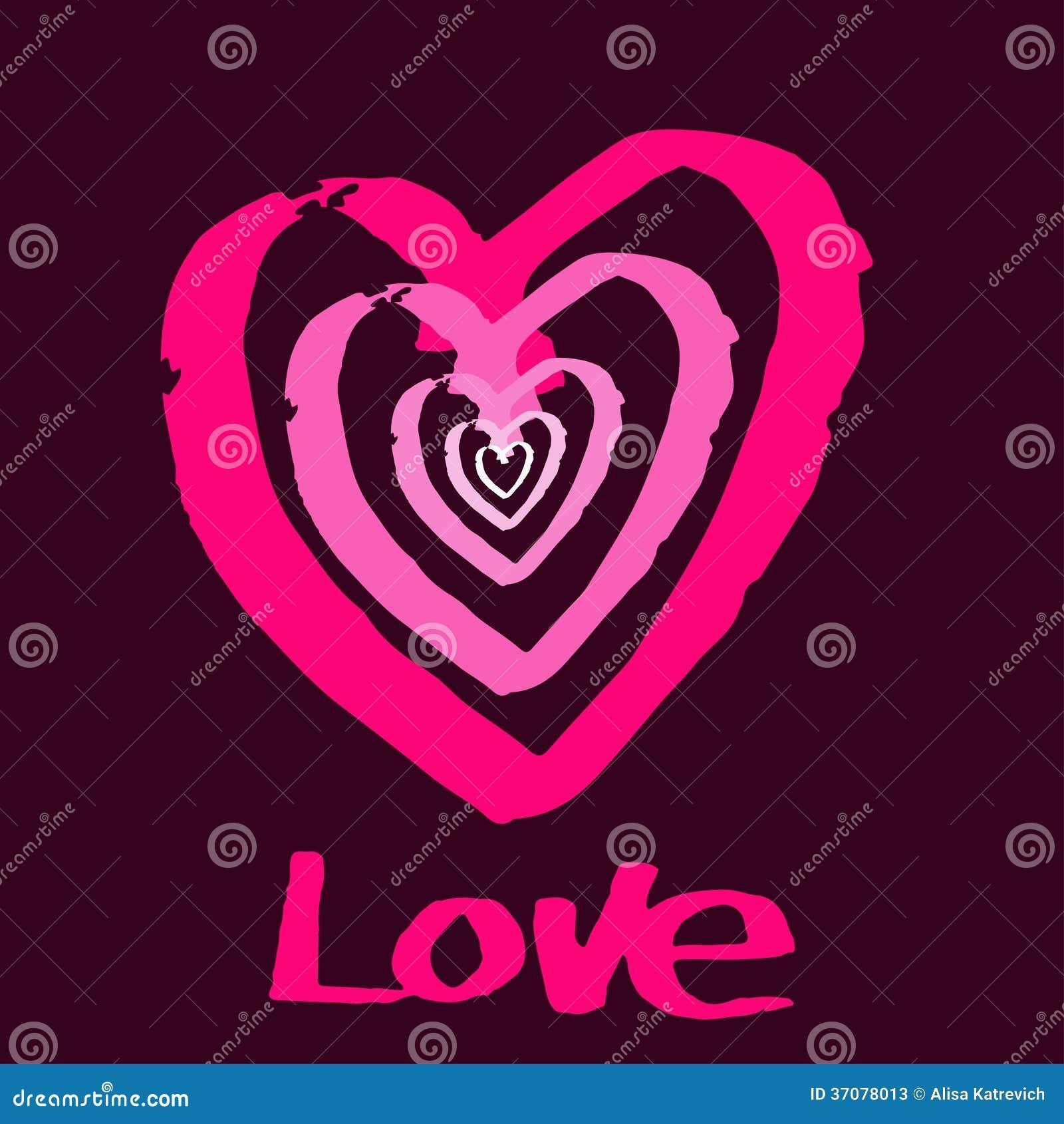 Download Bordo Papieru Walentynek Dnia Kierowa Karta. Ilustracja Wektor - Ilustracja złożonej z sztandar, retro: 37078013