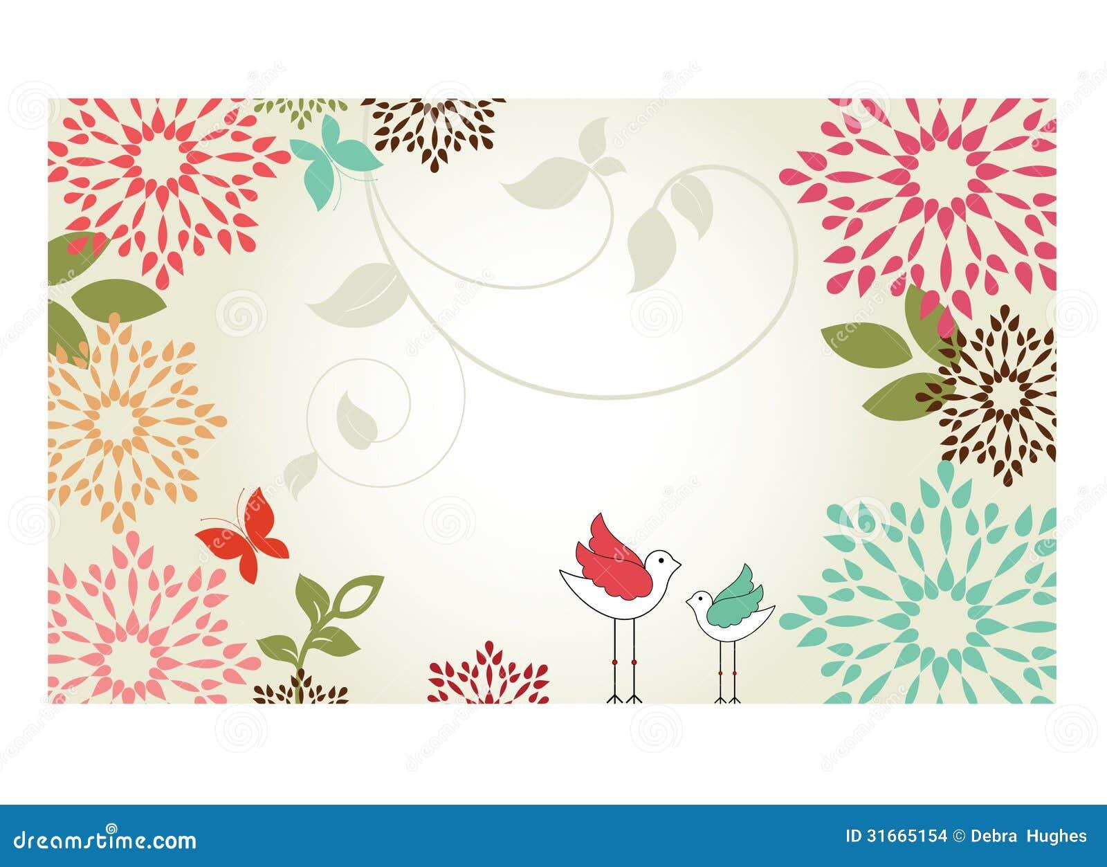bordure de fleur illustration de vecteur illustration du. Black Bedroom Furniture Sets. Home Design Ideas