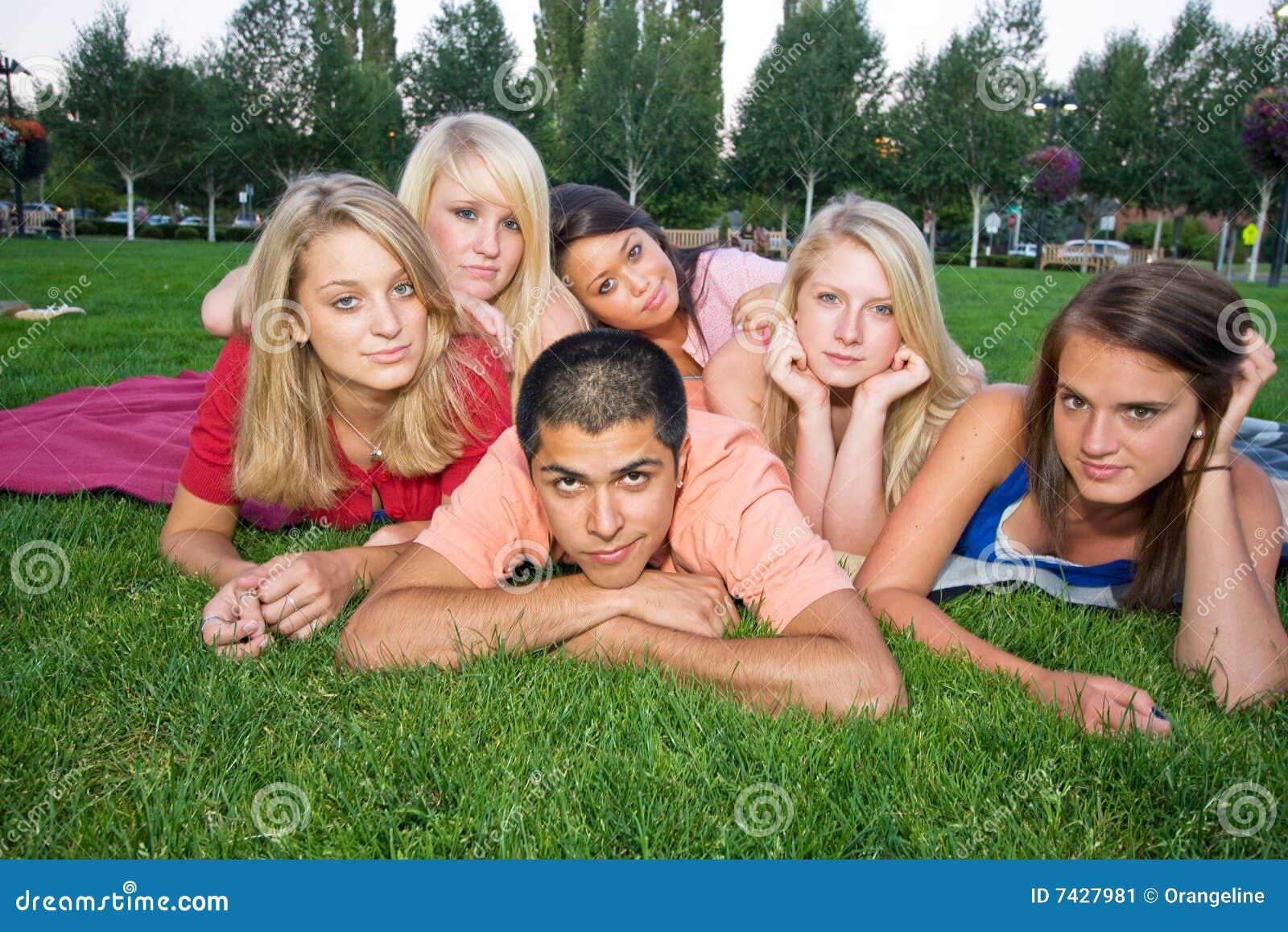 Five Girl One Boy