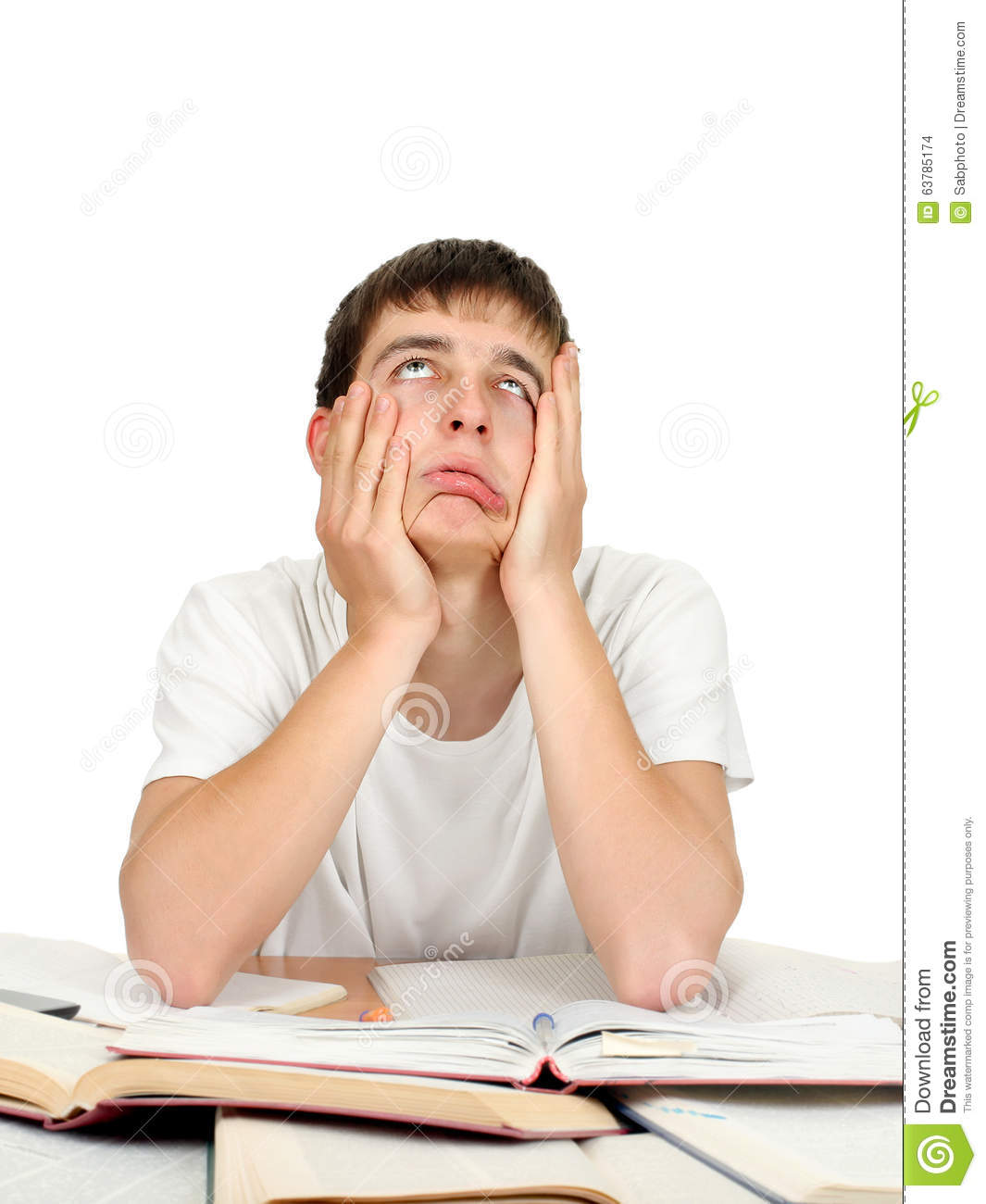 sleepy student Every day i sleep about 6 hours but when i'm studying i feel very sleepy and tired what can i do.