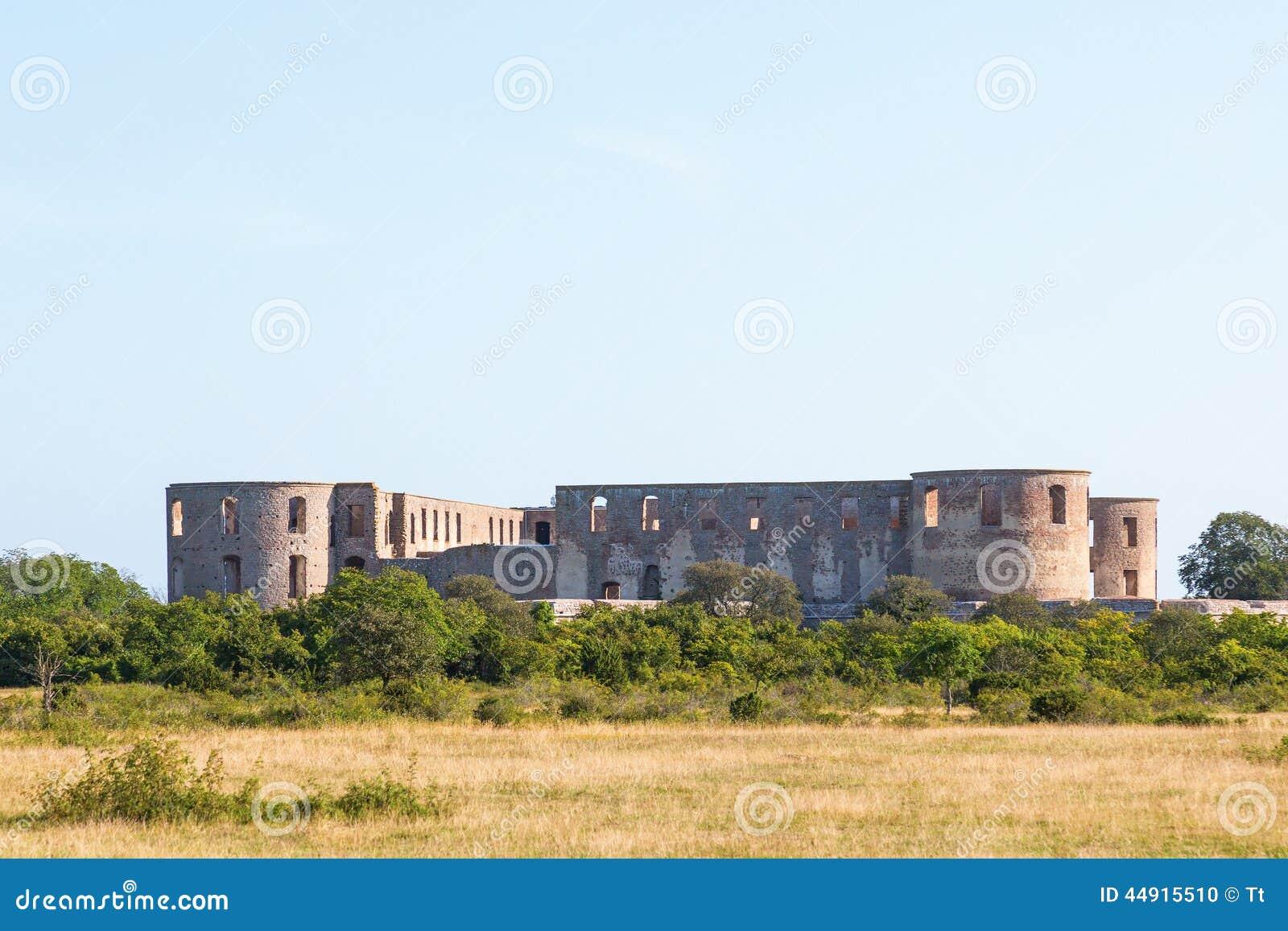 Borgholm城堡废墟