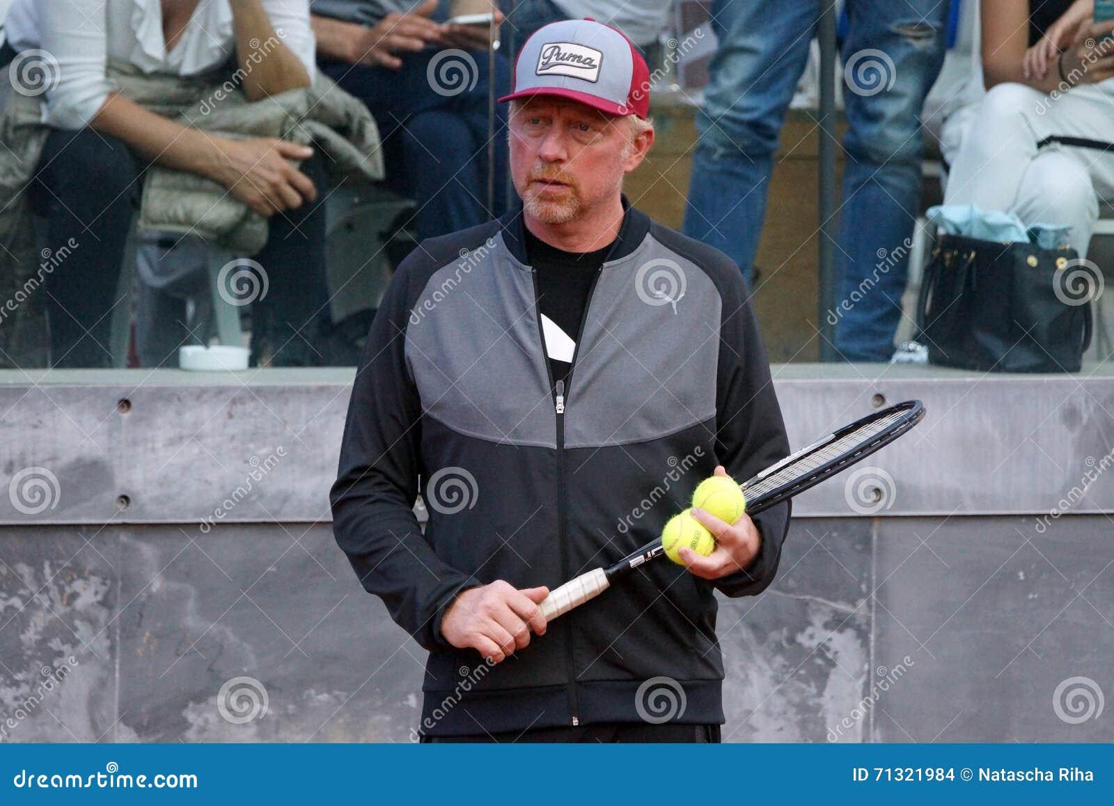 Boris Becker (тренер Novak Djokovic)