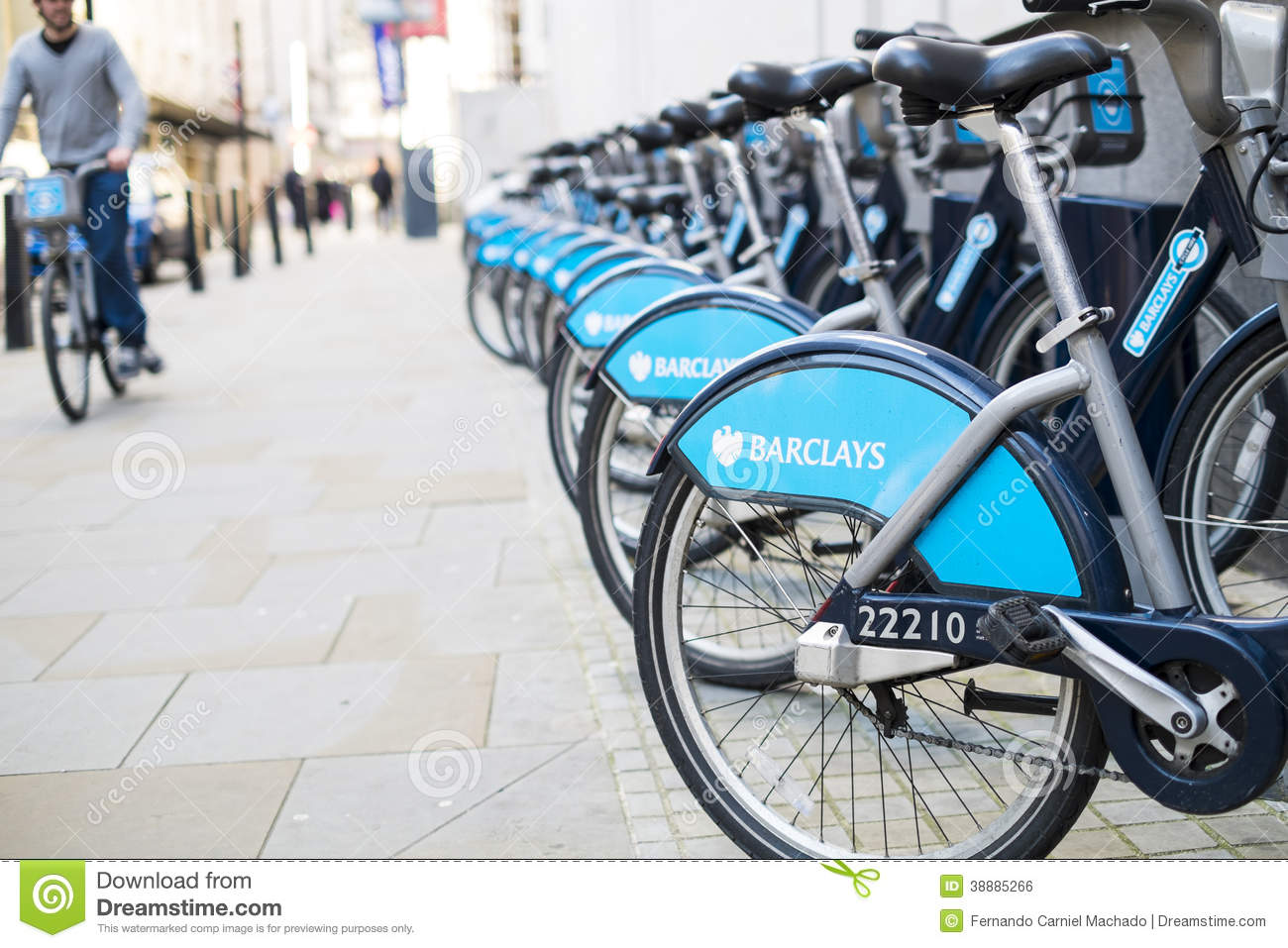 Boris Bike Editorial Photo - Image: 38885266