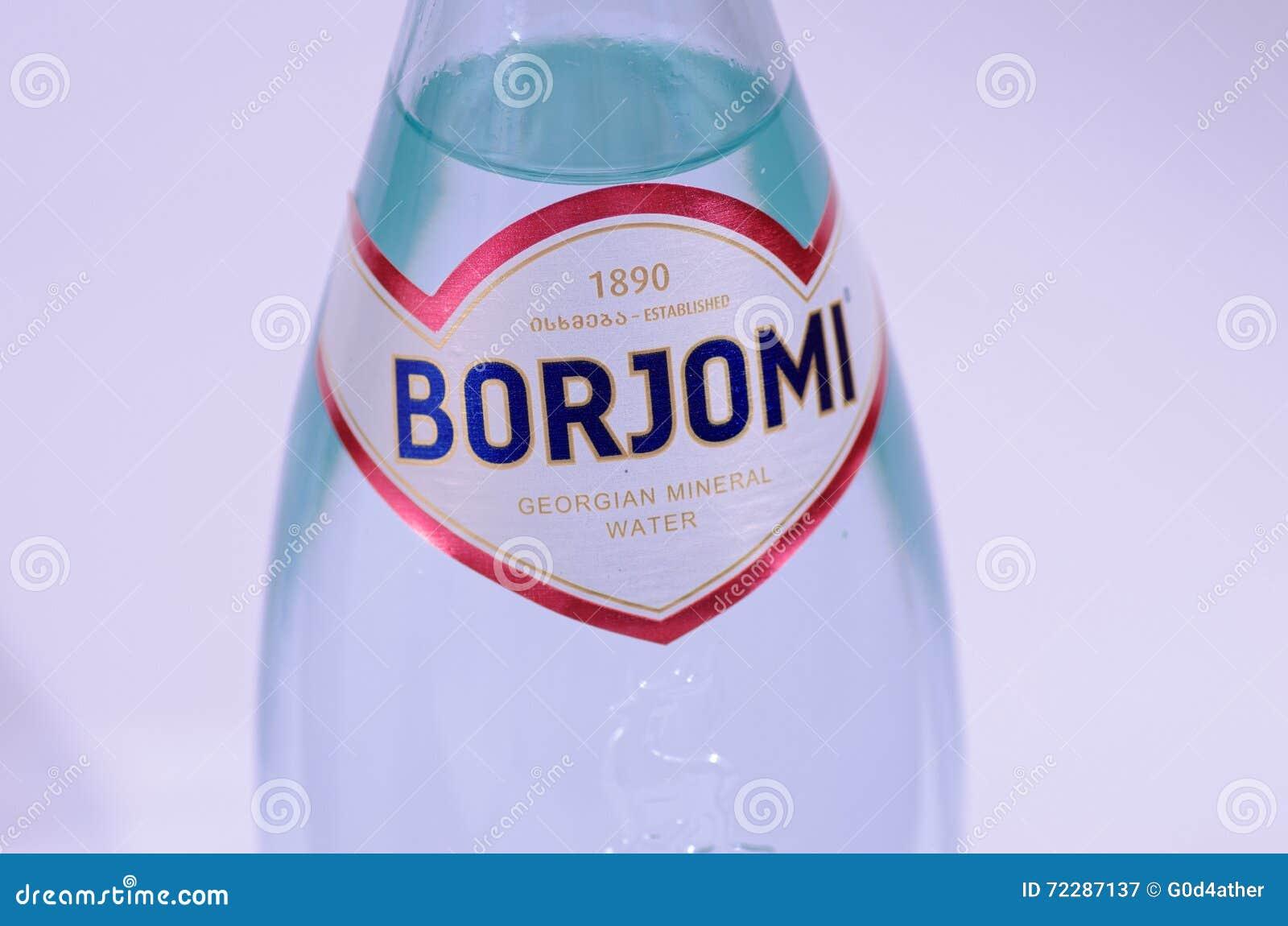 Download Borjomi редакционное фотография. изображение насчитывающей логос - 72287137