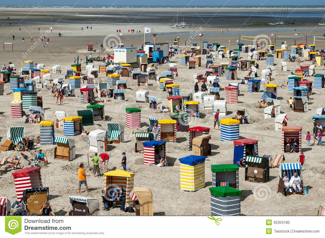Borkum Germany  city photos gallery : ... North Beach on the East Frisian island Borkum, Lower Saxony, Germany