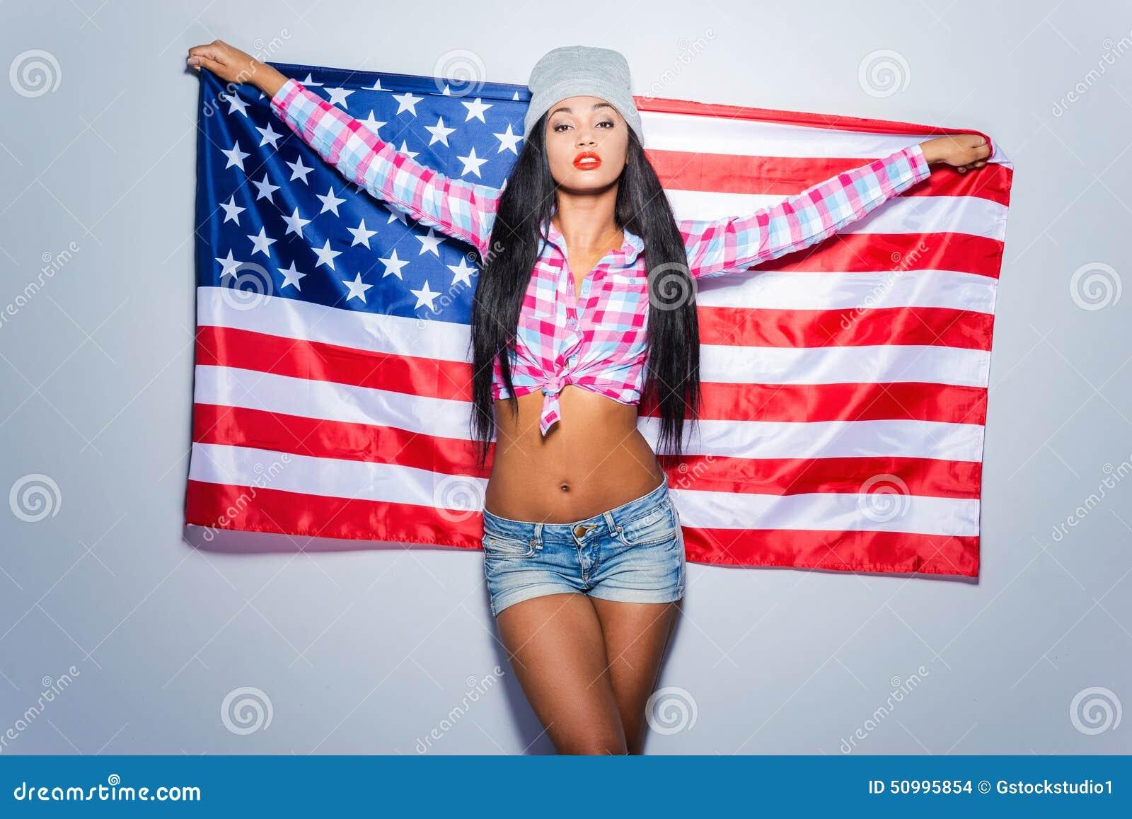 Американский флаг порно