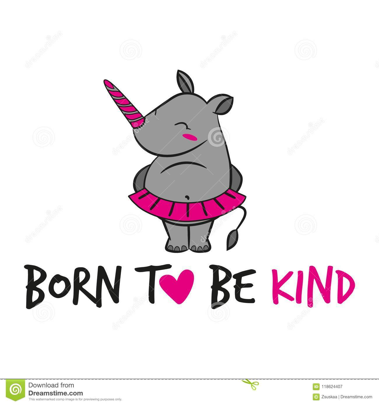 Born to be kind funny vector text stock vector illustration of download born to be kind funny vector text stock vector illustration of girl thecheapjerseys Gallery