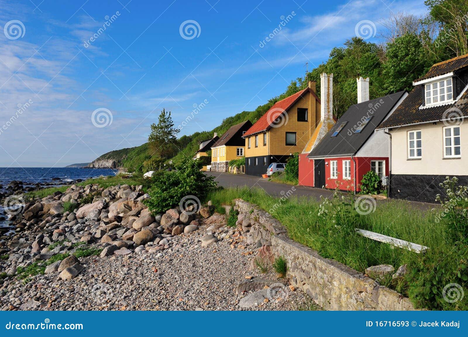 Bornholm island landscape