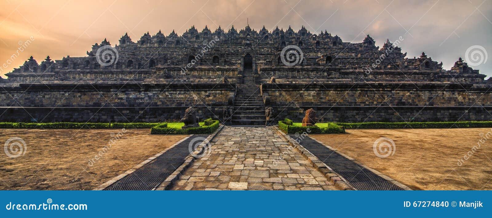 Borobudur świątynia w Jawa