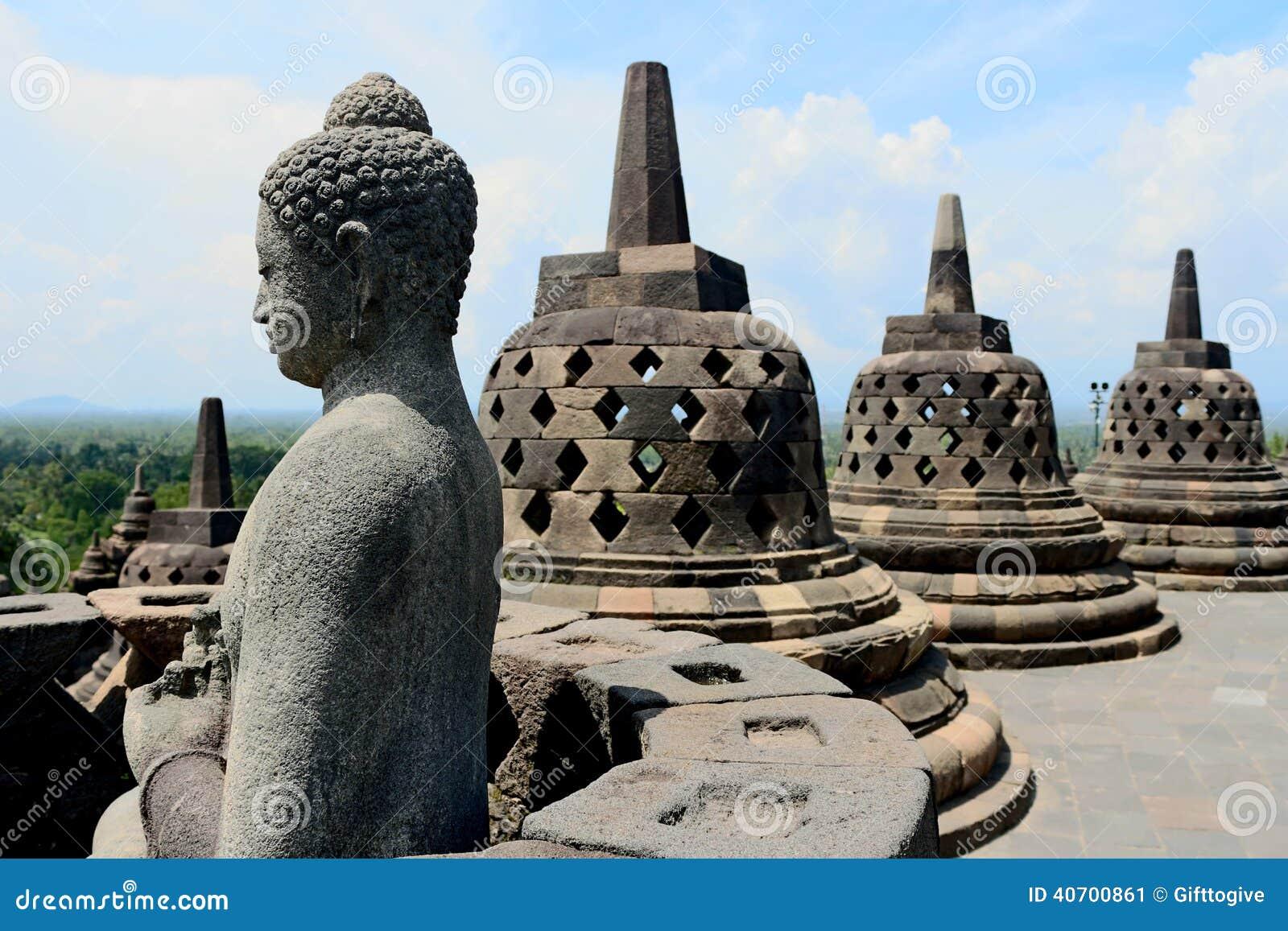 Borobudur em Indonésia