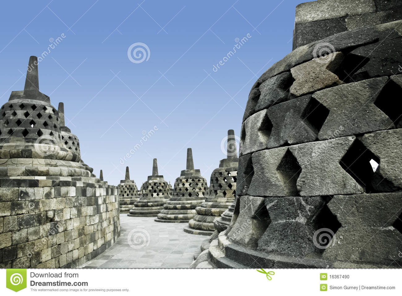 Borobudur temple architecture java indonesia stock photo for Architecture java