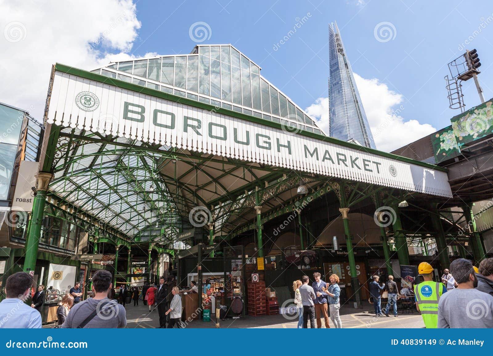 Food Market Near London Bridge