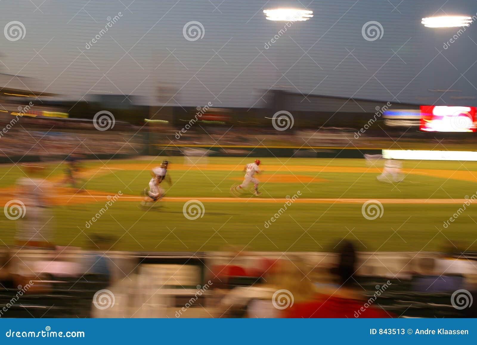 Borrão do corredor do basebol