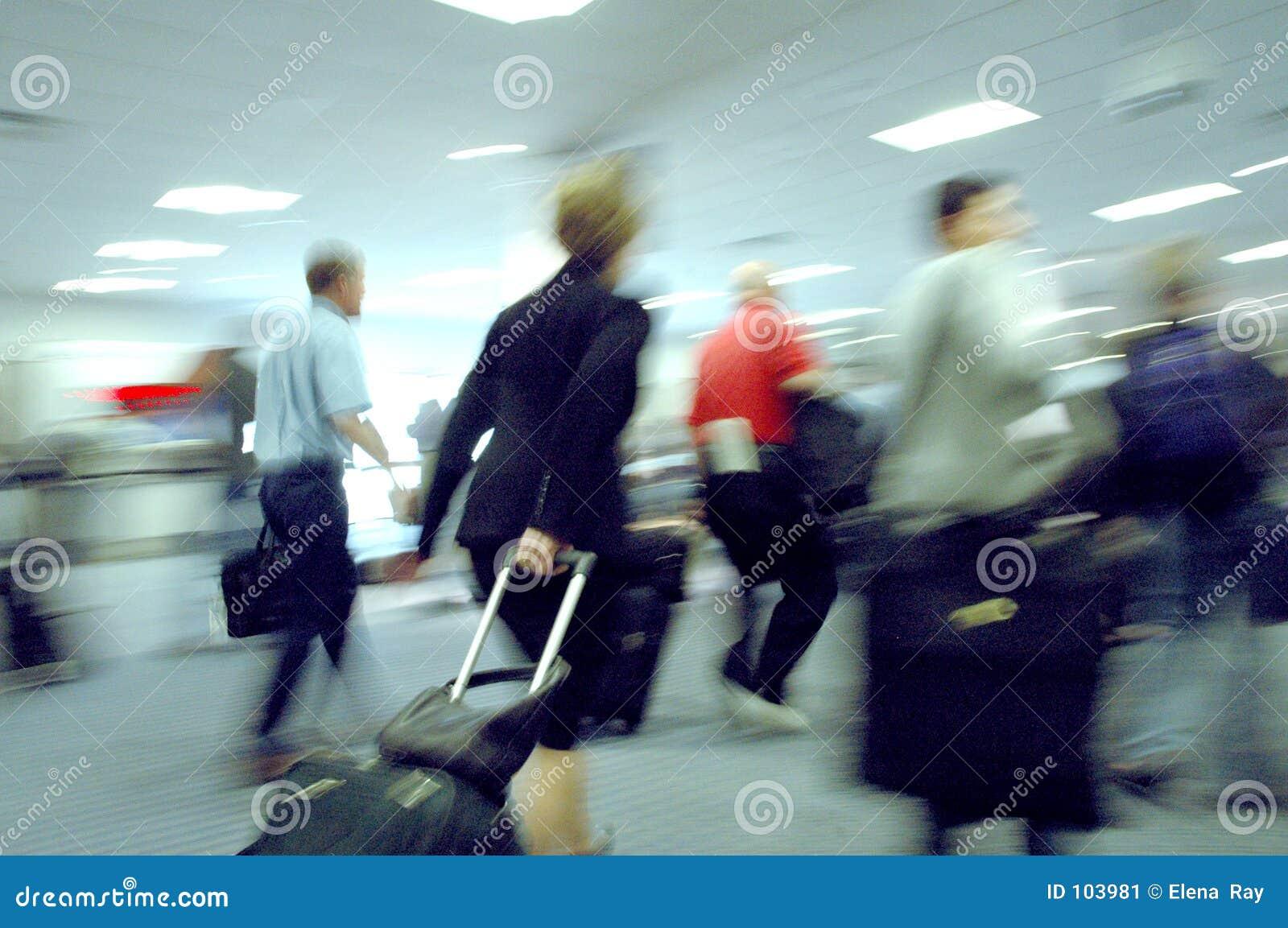 Borrões 4 do aeroporto