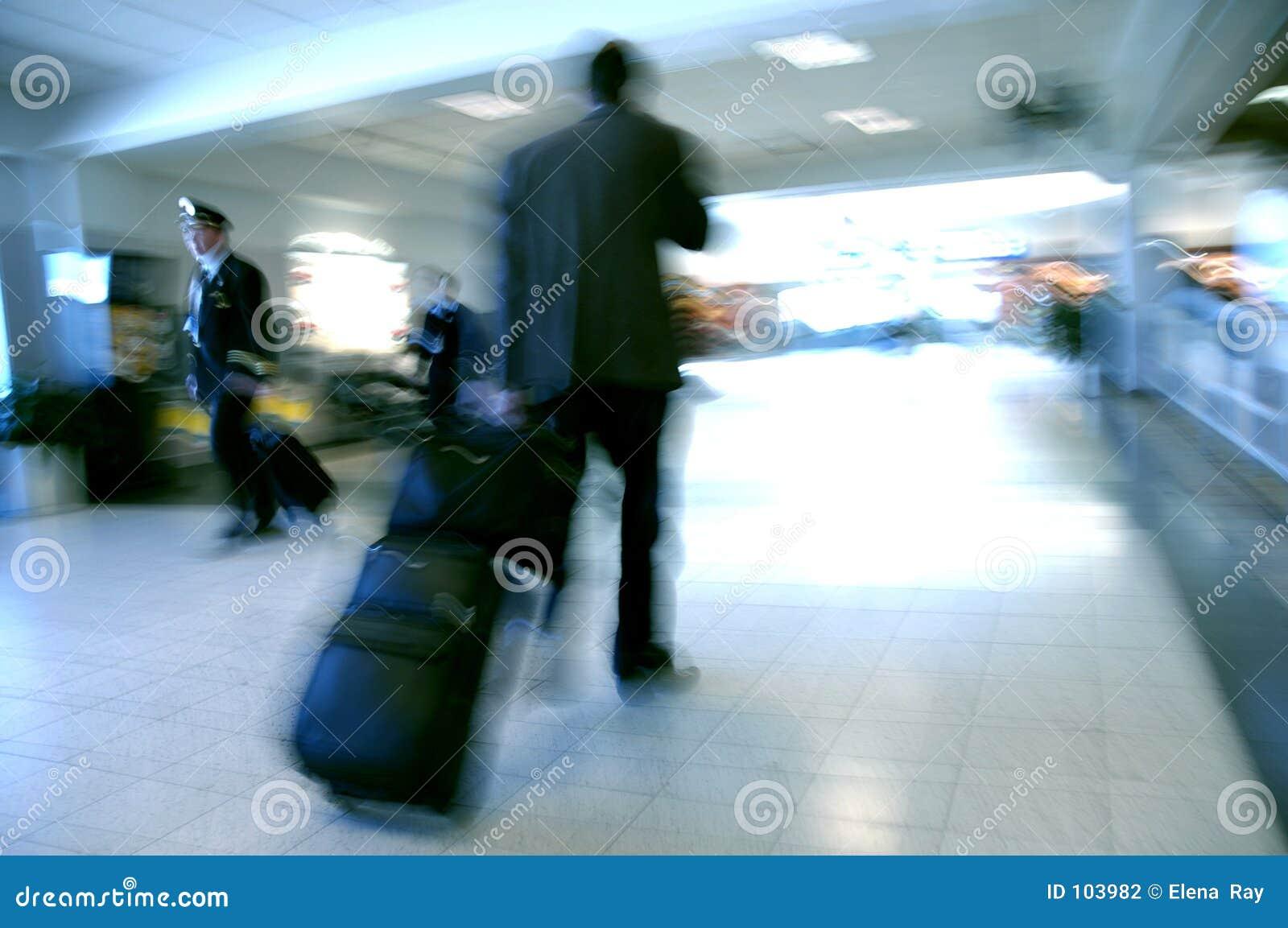 Borrões 5 do aeroporto