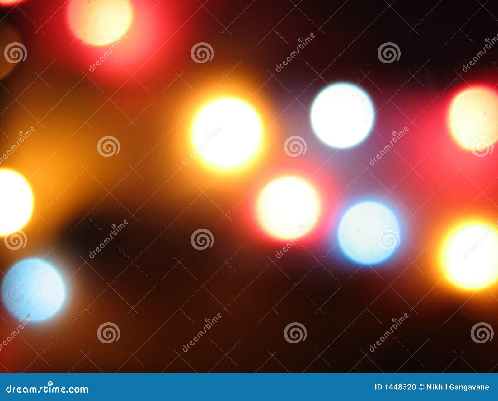 Borrões da luz