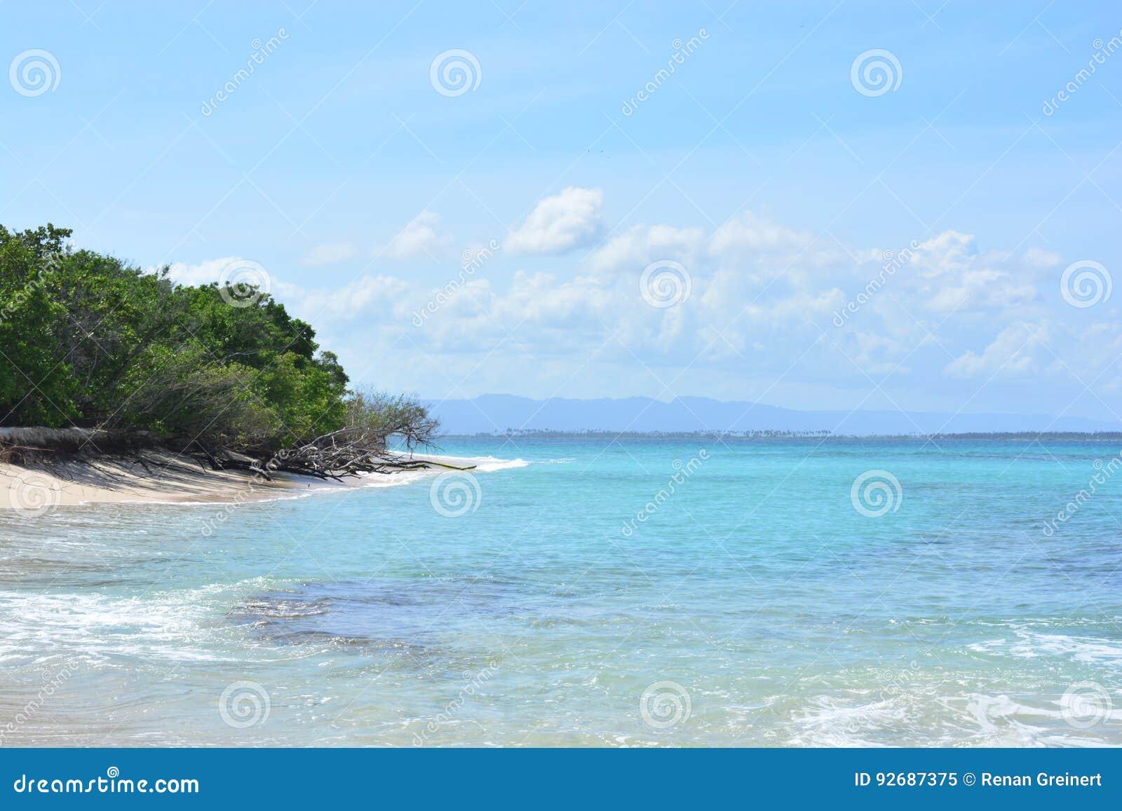 Borracho Insel An Nationalpark Morrocoy Karibisches Meer Venezuela