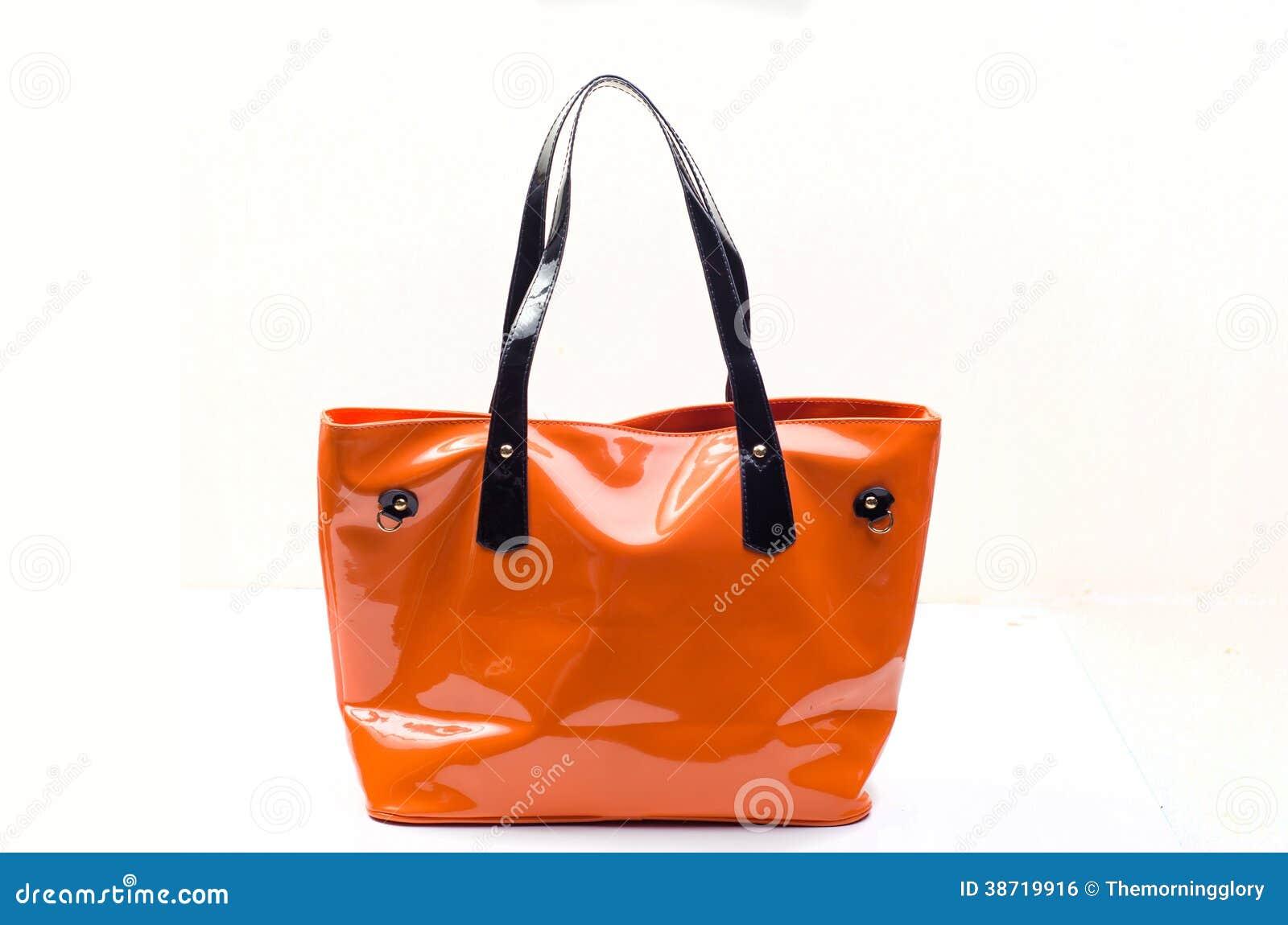 Borsa arancio delle donne