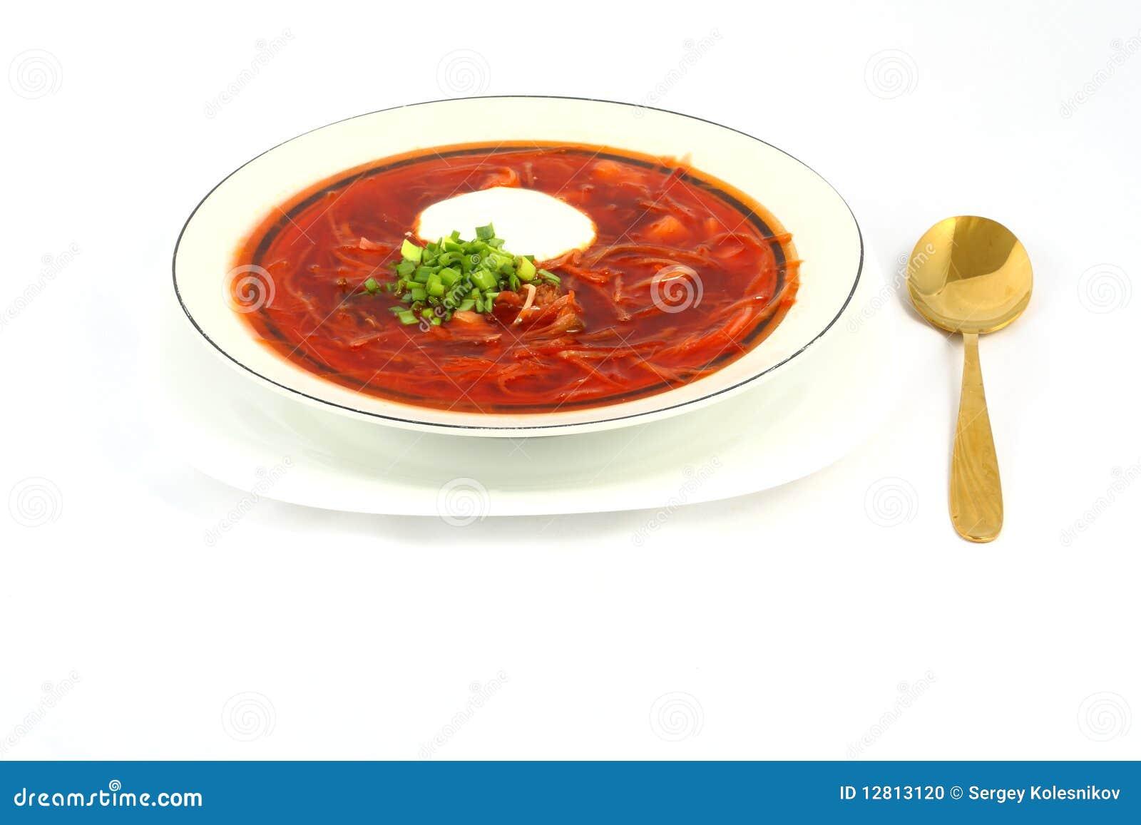 Borscht ucraniano