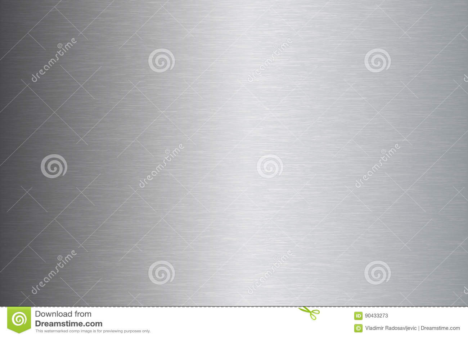 Borstad illustration för vektor för metallrostfritt ståltextur