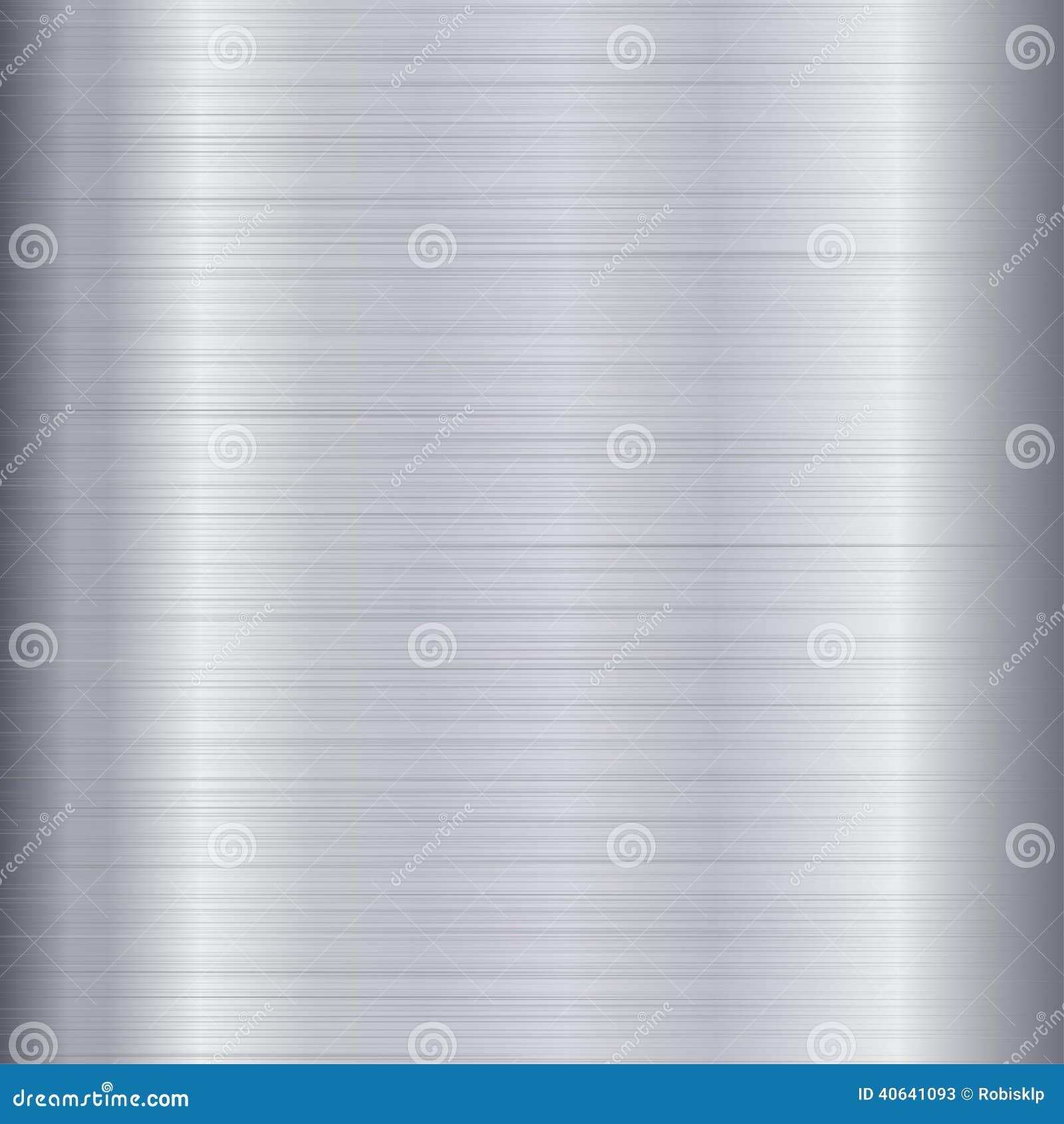 Borstad metalltextur