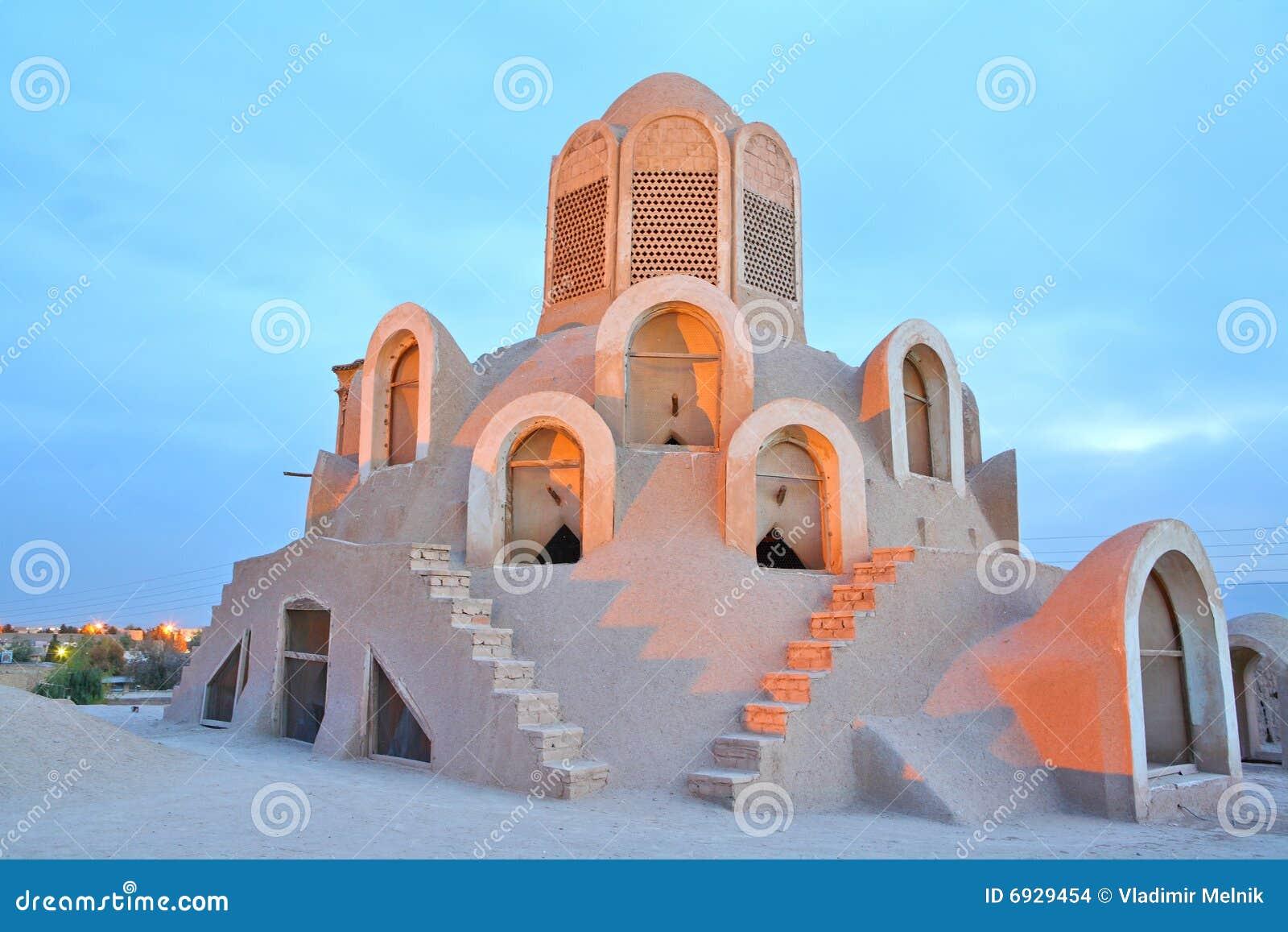 Borujerdi domowy Iran kashan wierza wiatr
