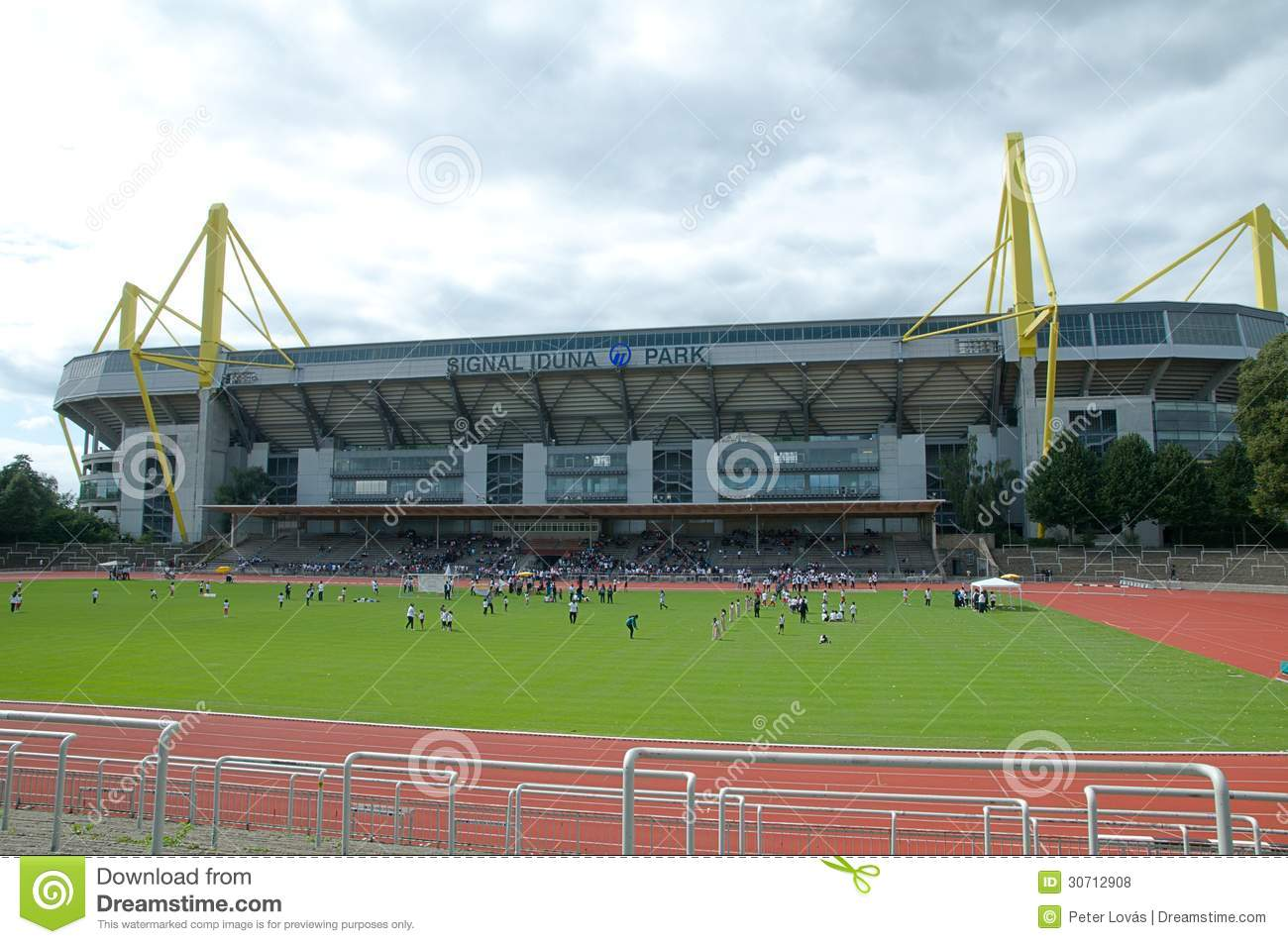 borussia dortmund borusseum stadium editorial stock photo image 30712908. Black Bedroom Furniture Sets. Home Design Ideas