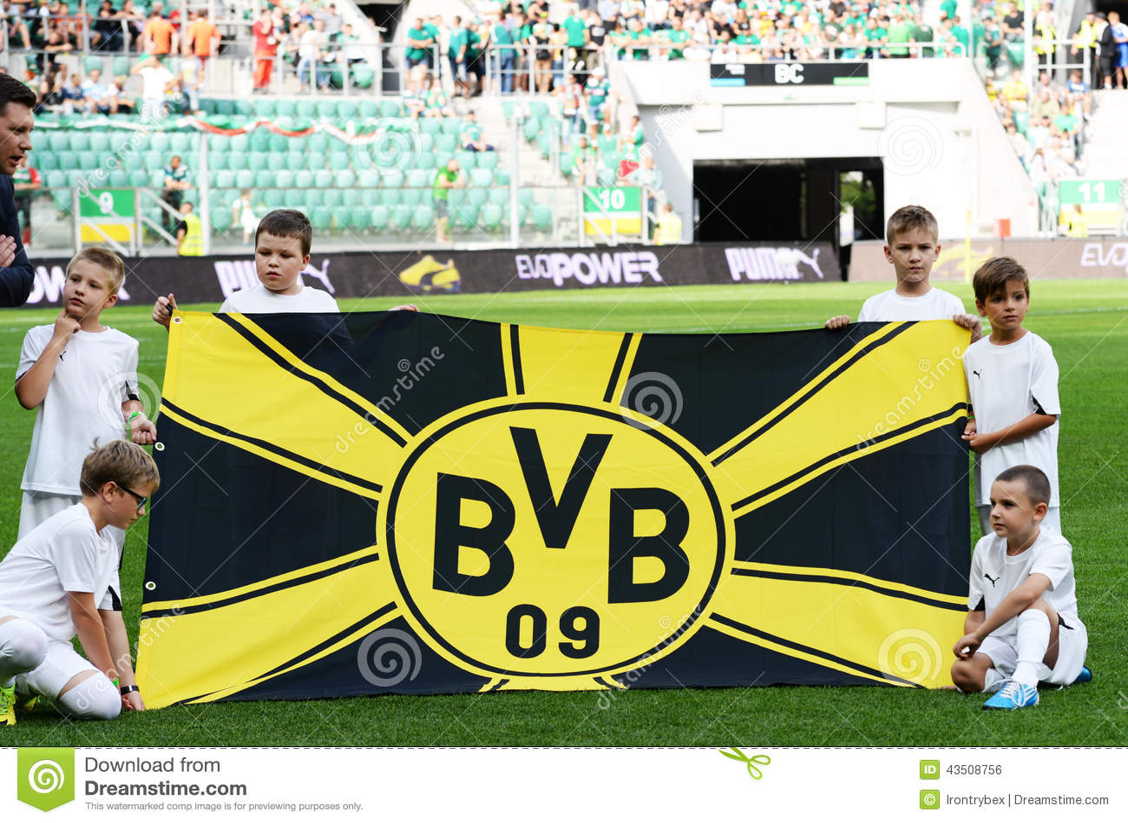 Borussia Dortmund Bvb Flag Editorial Photo Image Of Flag 2014 43508756