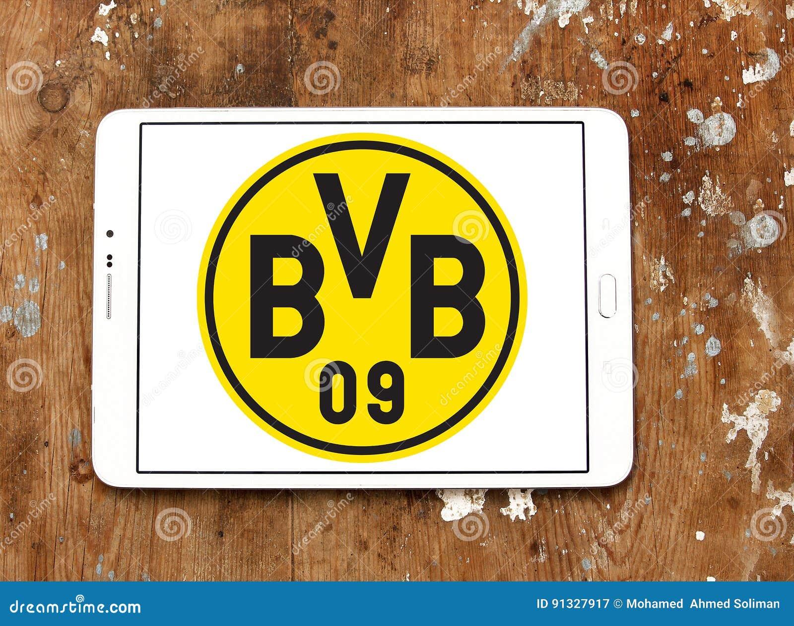 Borussia Dortmund Bvb Fussball Vereinlogo Redaktionelles Stockfotografie Bild Von Borussia Vereinlogo 91327917