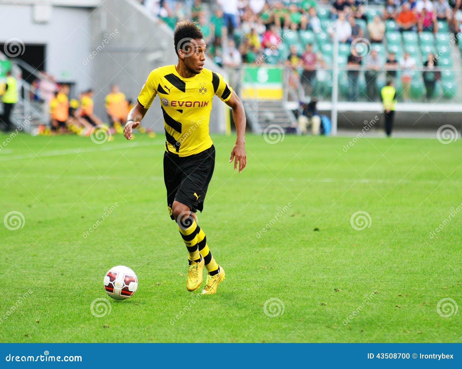 Borussia Dortmund Pierre Emerick Aubameyang Editorial Image