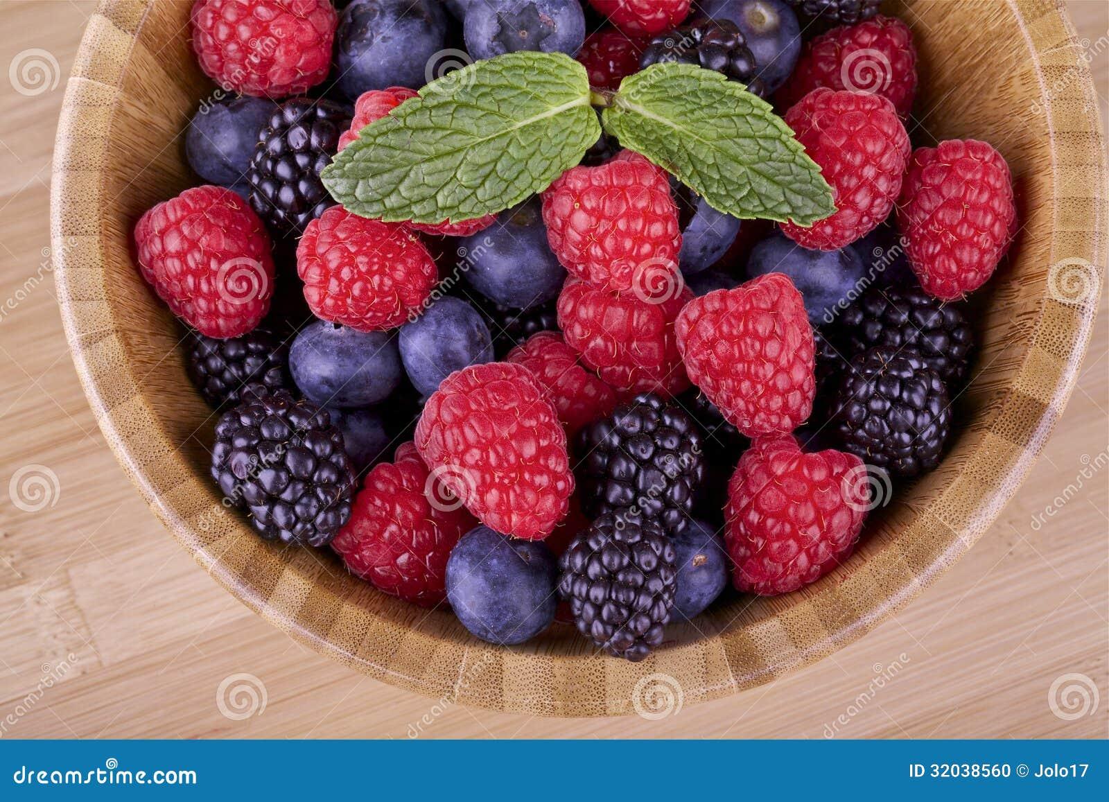 Bos fruit-bessen