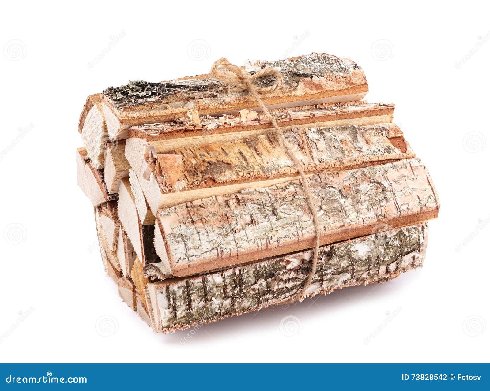 Bos van brandhout