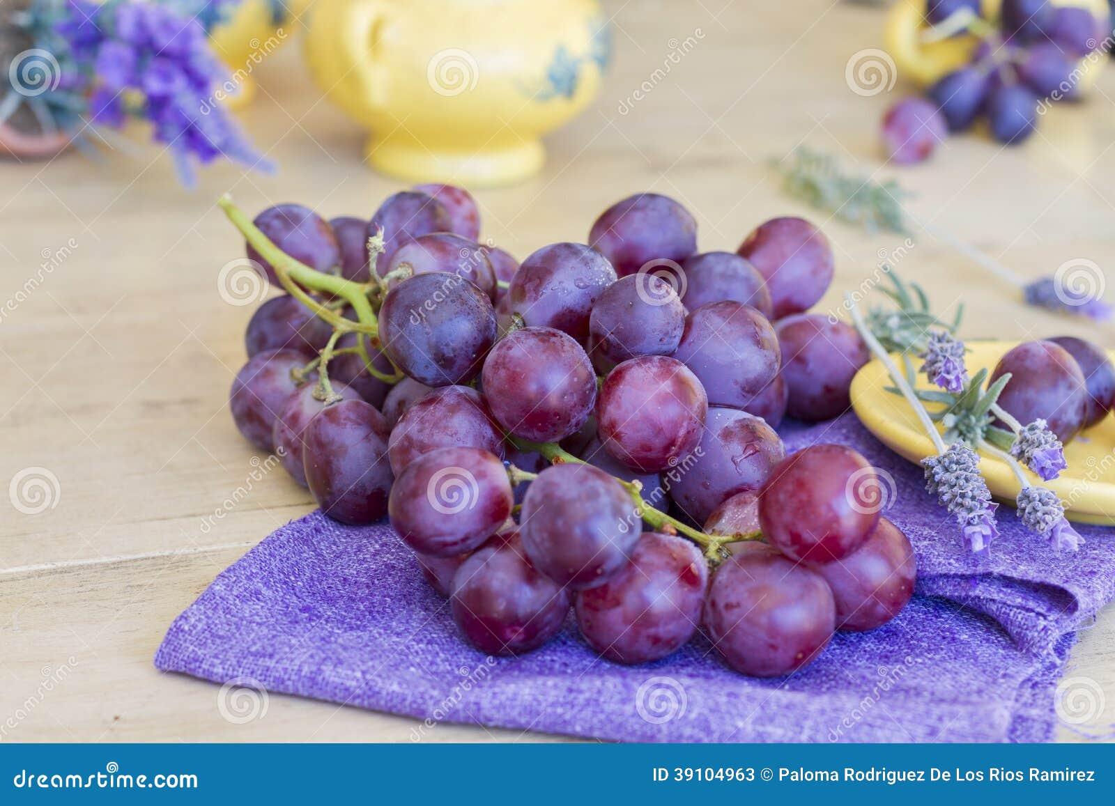 Bos van druiven klaar te eten
