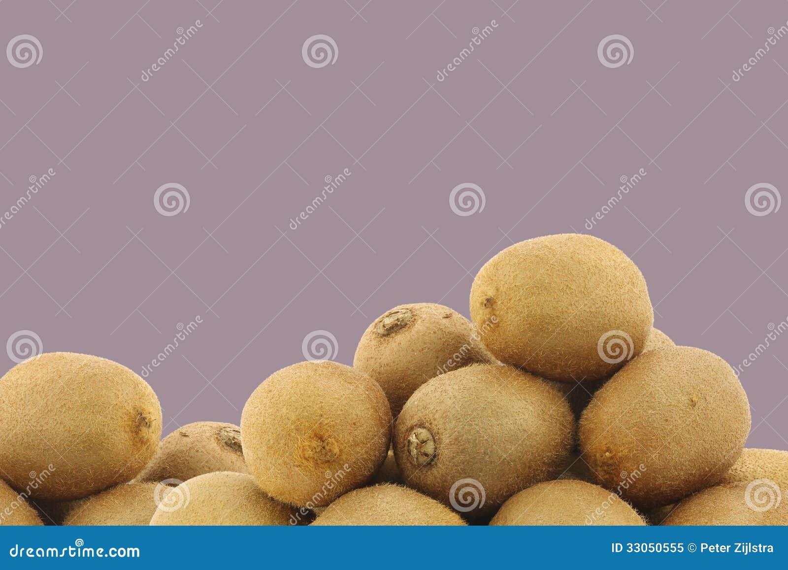 Bos van vers kiwifruit
