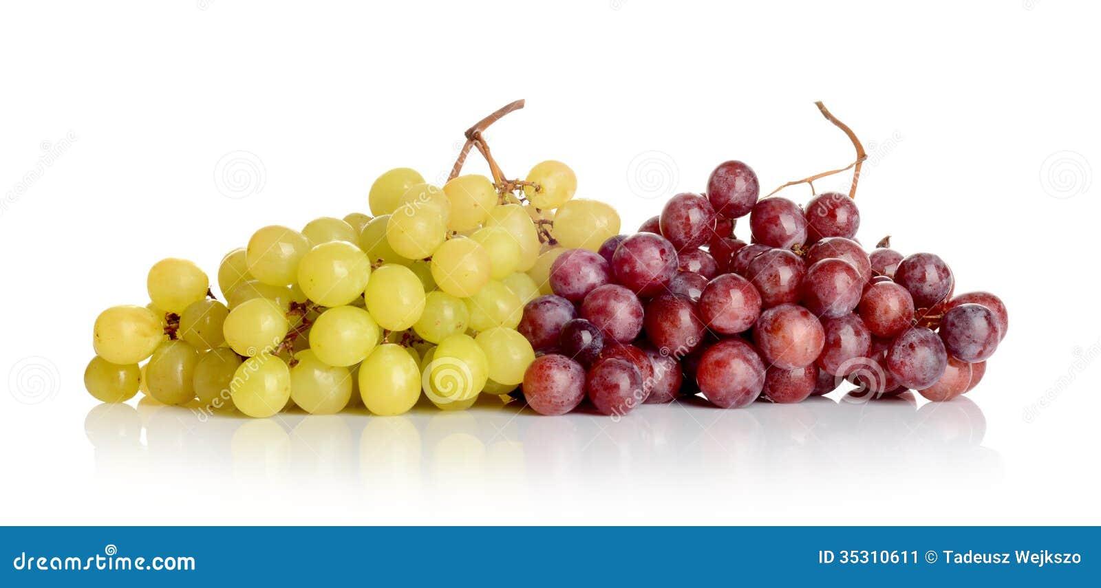 Bos van witte en rode druiven stock afbeelding afbeelding 35310611 - Witte meubels en rode ...