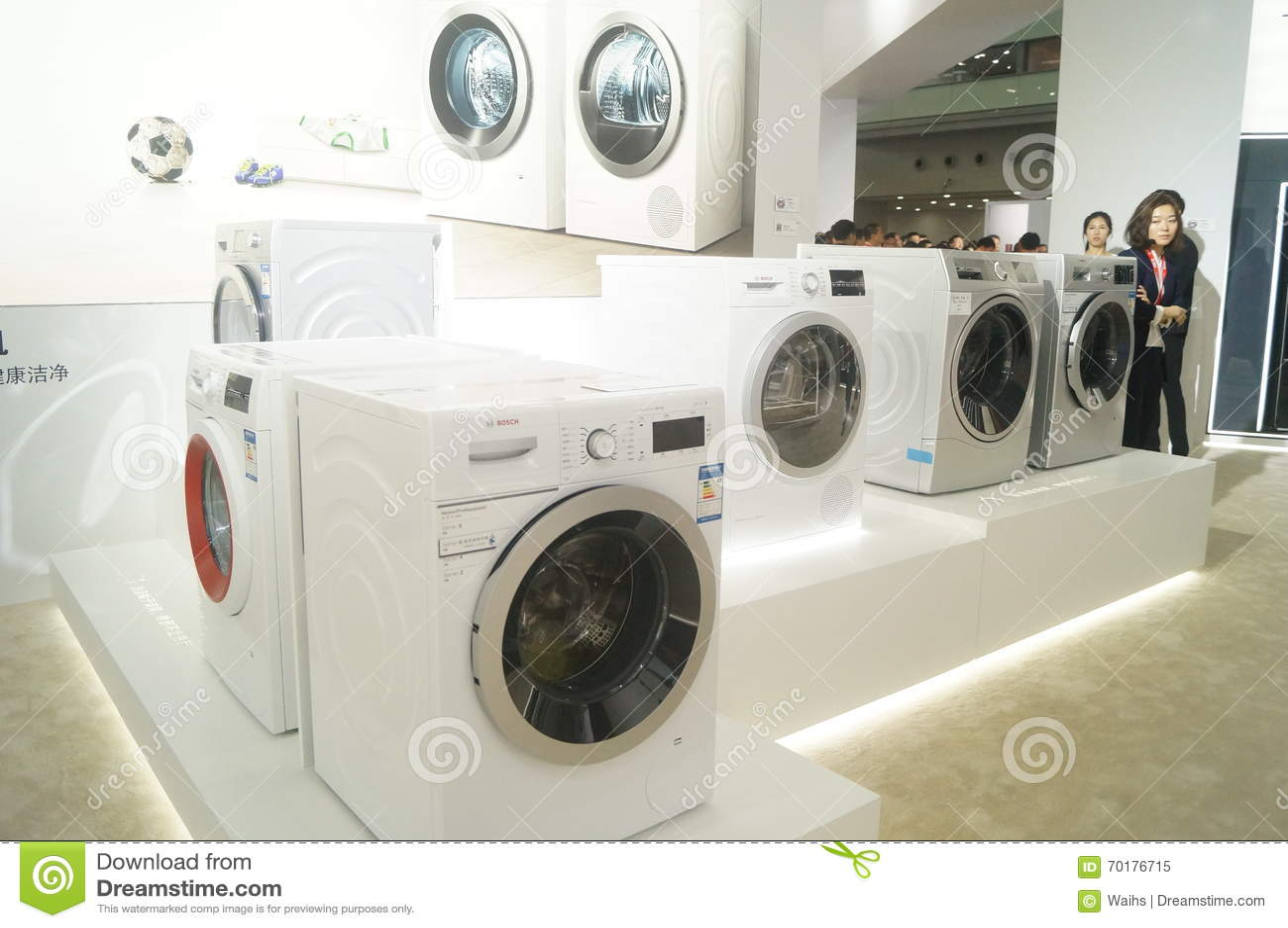Bosch Home Appliances Exhibition Sales Editorial Image