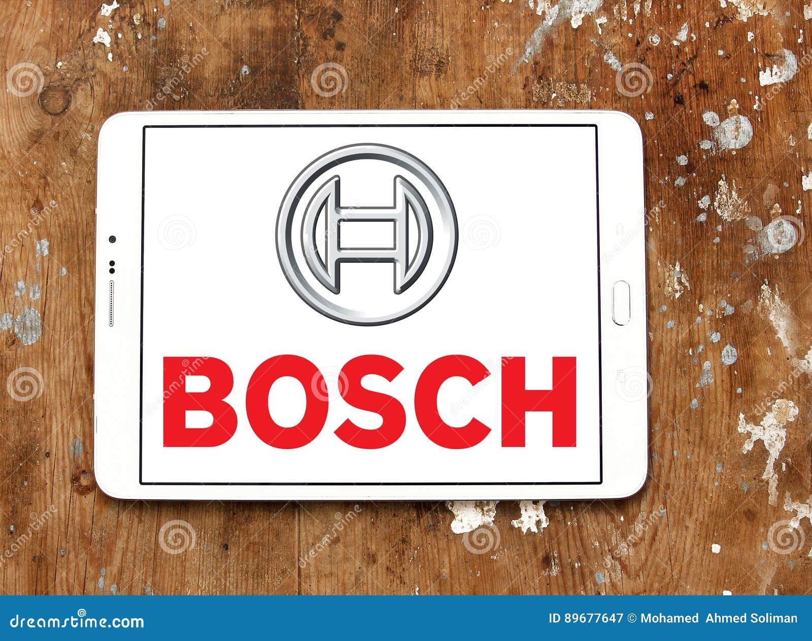 Kitchen Appliance Logos ~ Bosch logo editorial photography image of brand