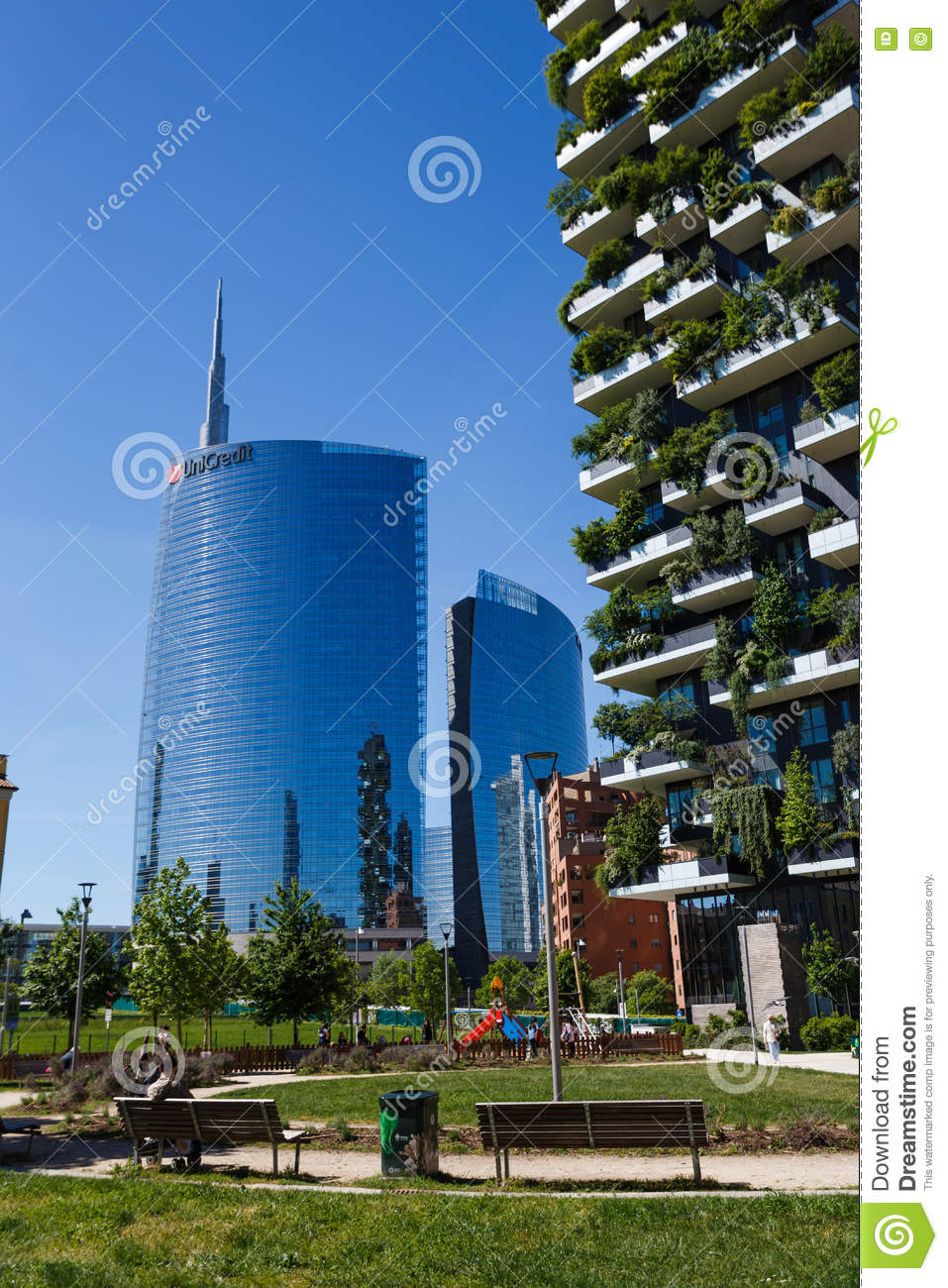 bosco verticale buildings in milan editorial photography image 72077392. Black Bedroom Furniture Sets. Home Design Ideas